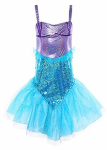 MOREMOO-Little-Girl-Sequins-Princess-Mermaid-Costume-Dress-with-Tail-0