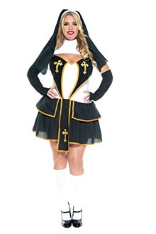 Music-Legs-Womens-Plus-Size-Flirty-Nun-0