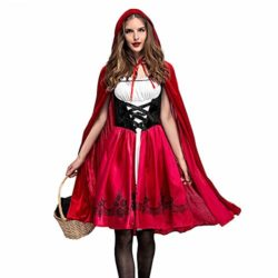 PASATO-Women-Halloween-Costume-Cosplay-Ball-Party-Hooded-Bandage-Shawl-Dress-Suit-Skirts-0-0