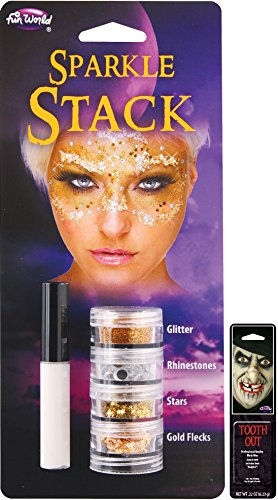 Potomac Banks® Sparkle Stack with Free Pack of Makeup