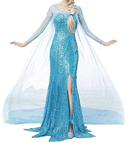 Princess-Dress-Women-Girls-Halloween-Cosplay-Costume-Fancy-Party-Dress-Up-0