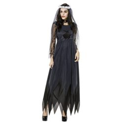 Quesera-Womens-Corpse-Bride-Costume-with-Veil-Long-Gothic-Halloween-Scary-Outfits-0