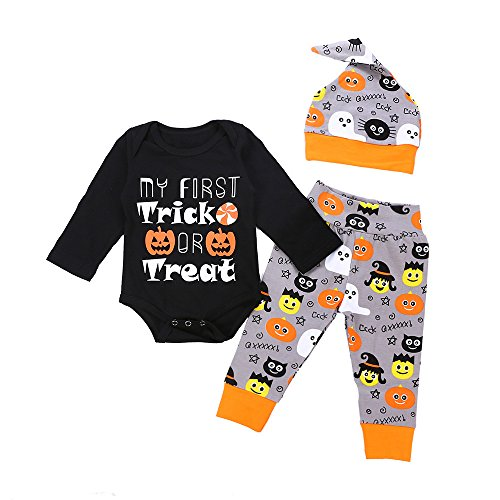 Romper Baby Infant Halloween Baby Jumpsuit Girls Boys Cute Pants Outfits Set