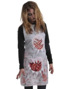 Rubies-Costume-Zombie-Shop-Butchers-Apron-RedWhite-One-Size-0