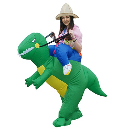 SULAIMI Inflatable Unicorn Costume T-REX Fancy Dress Costume| Inflatable Costumes for Adults| Halloween Costume