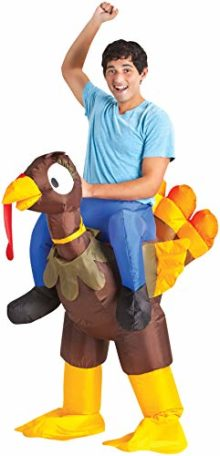Turkey-Rider-Inflatable-Outfit-Funny-Theme-Party-Halloween-Fancy-Costume-0
