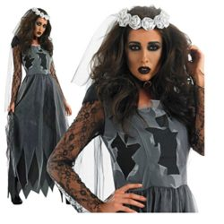 Womens-Zombie-Ghost-Bride-Costume-Veil-long-Gothic-Halloween-Corpse-Countess-Graveyard-Bride-Costume-Dress-Outfits-0-1