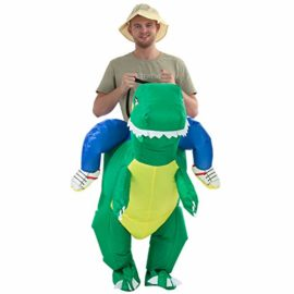 YEAHBEER-Dinosaur-Inflatable-Costume-T-Rex-Fancy-Dress-Halloween-Blow-up-Costumes-AdultKids-0-2