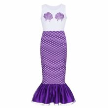 dPois-Kids-Girls-Mermaid-Scales-Printed-Sleeveless-Long-Dress-Halloween-Theme-Party-Fancy-Costumes-0