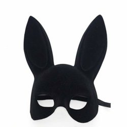 jingyuu-Bunny-Flocking-Mask-Halloween-Masks-Costume-Masquerade-Party-Dance-Party-Prom-Cosplay-Mask-0