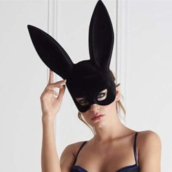 jingyuu-Bunny-Flocking-Mask-Halloween-Masks-Costume-Masquerade-Party-Dance-Party-Prom-Cosplay-Mask-0-4