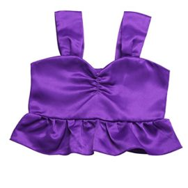 ranrann-Kids-Girls-2PCS-Shiny-Sequins-Halloween-Cosplay-Costume-Theme-Party-Tops-with-Skirts-Outfits-0-2
